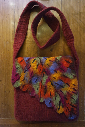 Felted Cross Body Bags