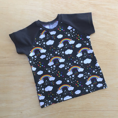 Rainbow in the Dark Toddler Tee