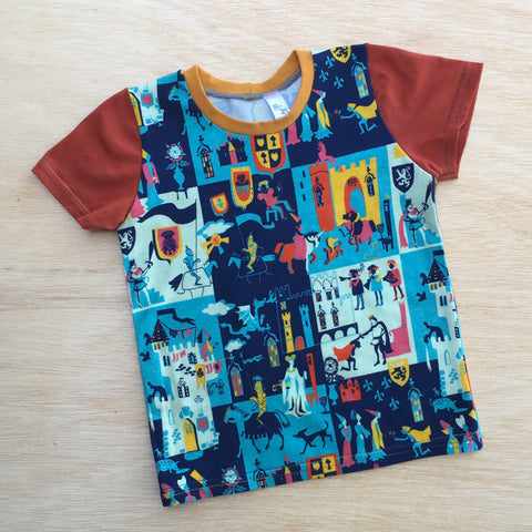 Retro Royalty Toddler Tee
