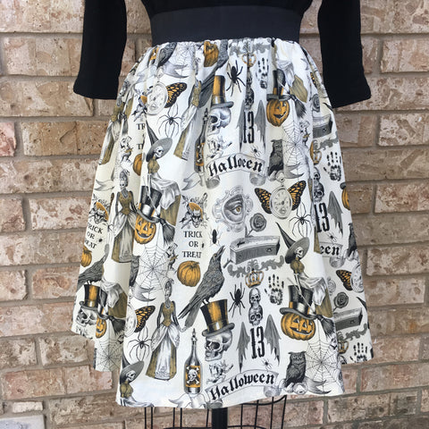 Haunted Hallows Eve Skirt