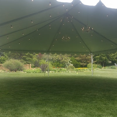 Tent Bistro Lighting - Alpine Event Co.