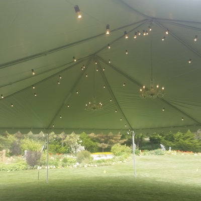 Tent Bistro Lighting