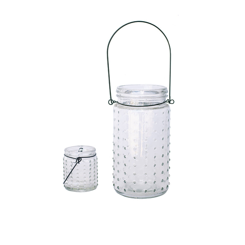 Beaded Glass Votive Lantern - Alpine Event Co.