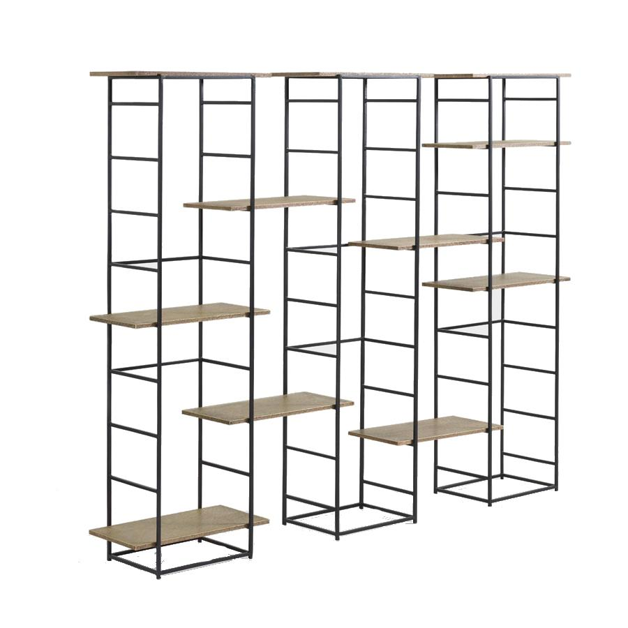 Black Metal Shelving