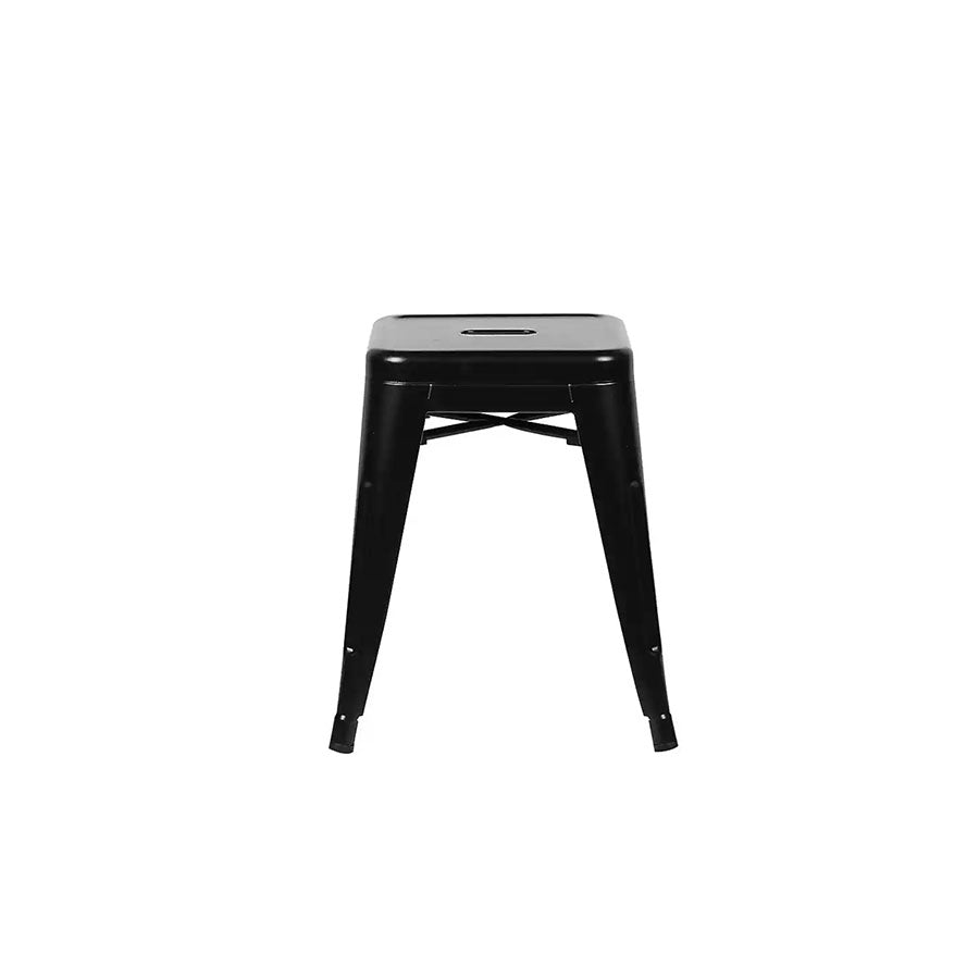 Black Metal Table Stool - Alpine Event Co.