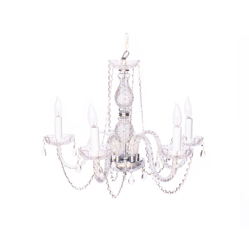 Crystal Pendant Chandelier 3-tier
