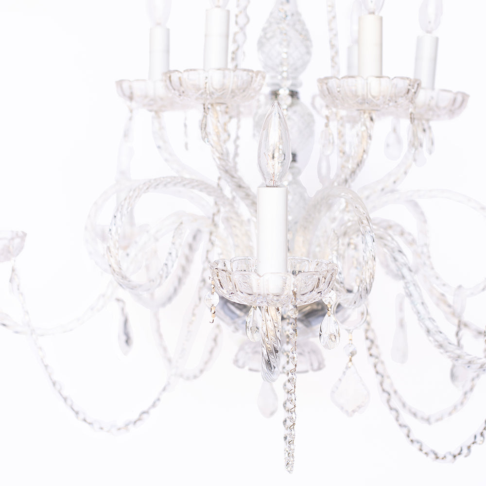 Crystal Chandelier 2-Tier