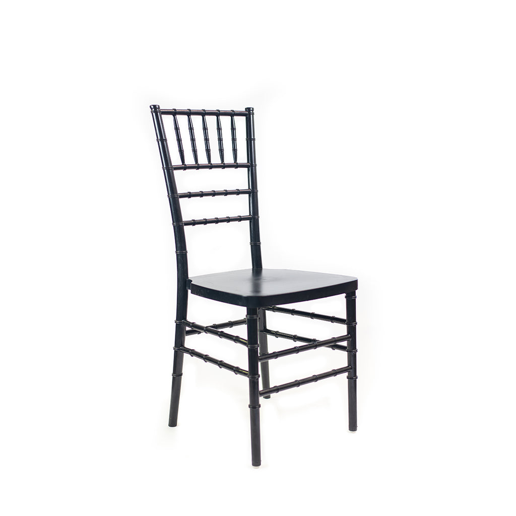 Black Chiavari Chair - Alpine Event Co.