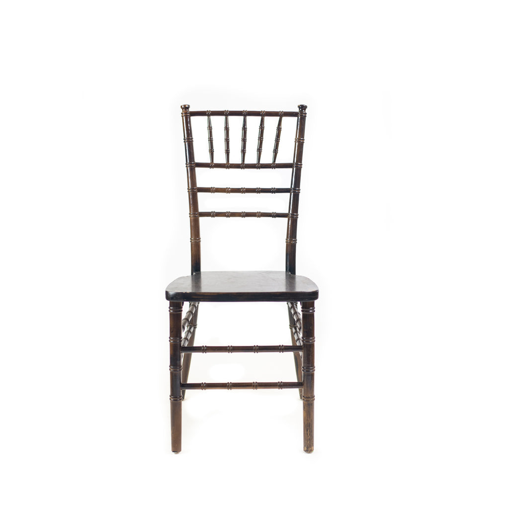 Dark Walnut Chiavari Chair - Alpine Event Co.