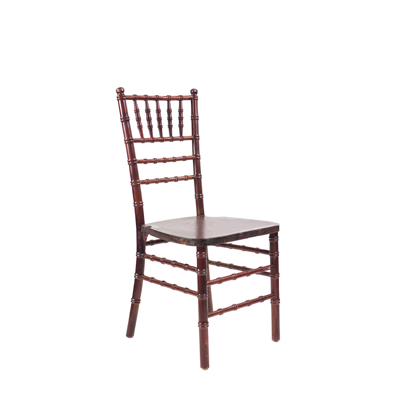Mahogany Chiavari Chair - Alpine Event Co.