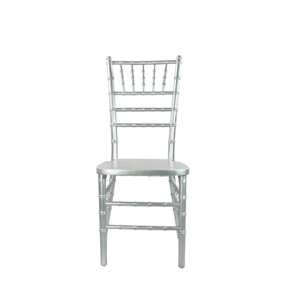 Silver Chiavari Chair - Alpine Event Co.