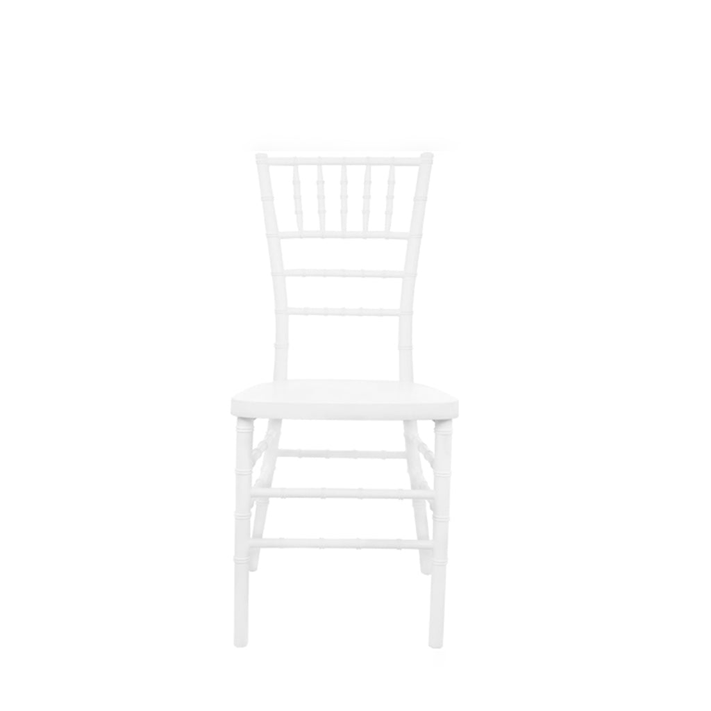 White Chiavari Chair - Alpine Event Co.