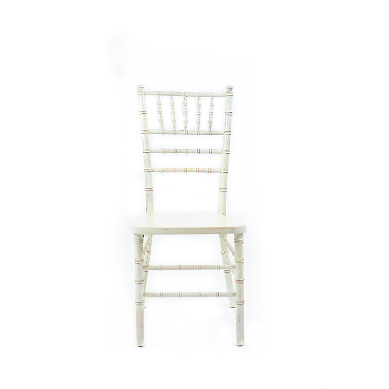 Whitewash Vintage Chiavari Chair