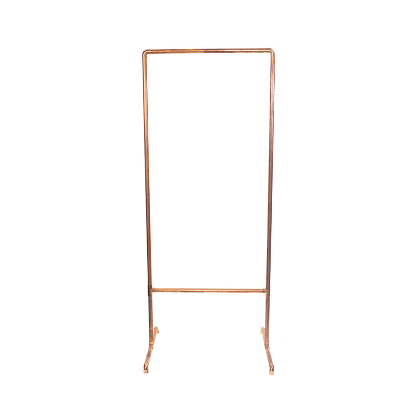 Copper Metal Sign Stand