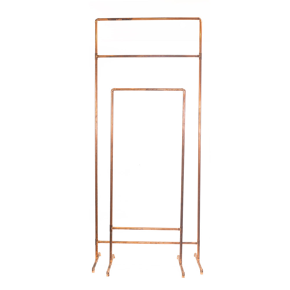 Copper Metal Sign Stands