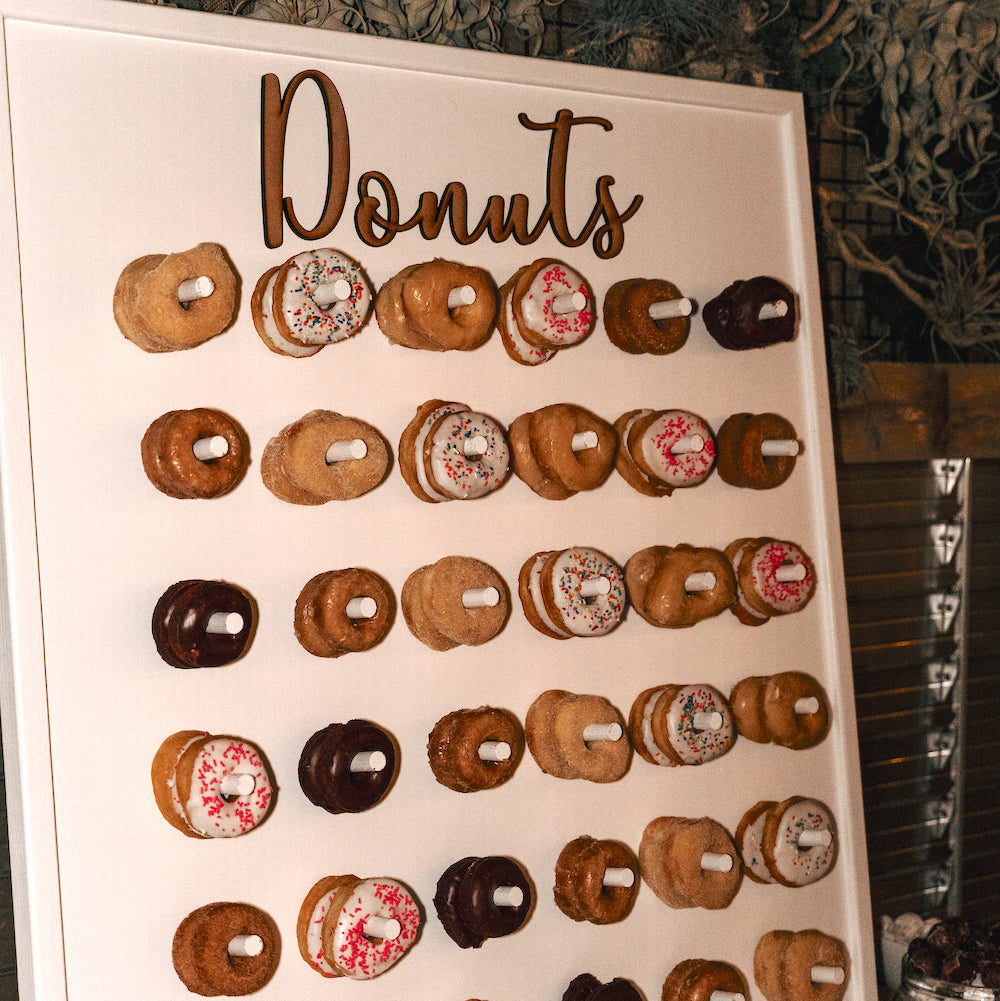 Donut Wall - Alpine Event Co.