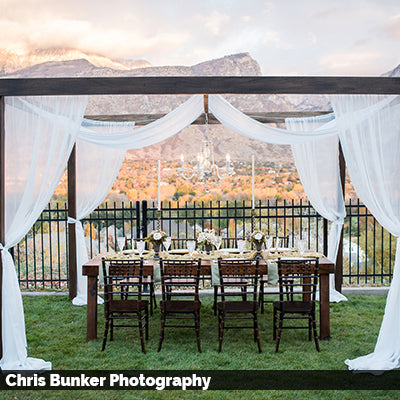 Farmhouse Cabana Draping Kit - Alpine Event Co.
