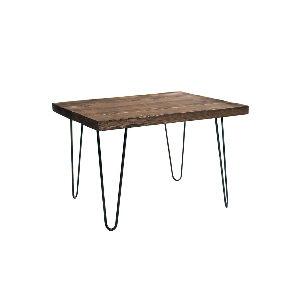 Modern Farmhouse End Table - Alpine Event Co.