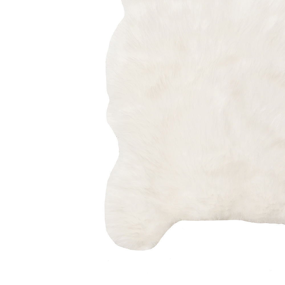 Faux Sheepskin Throw - Alpine Event Co.