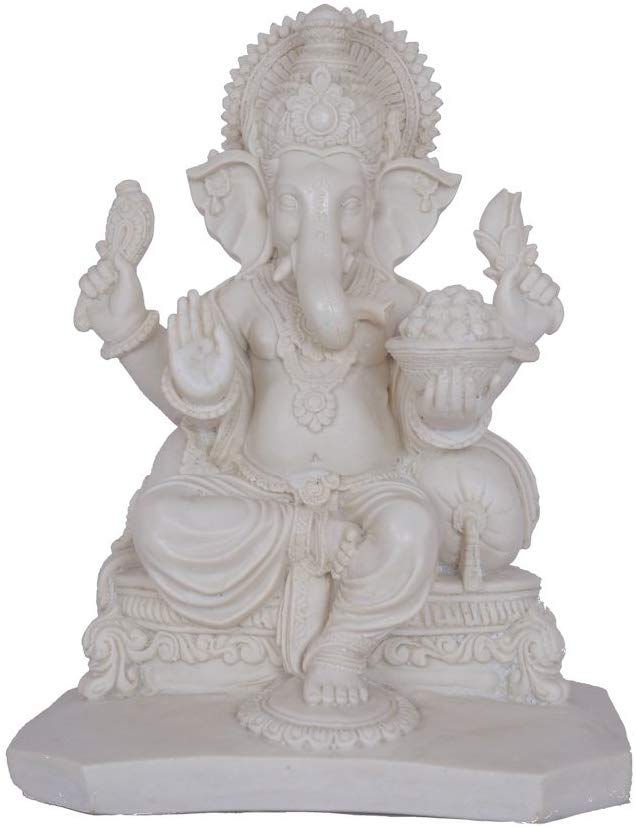 Marble Ganesh Statue - Alpine Event Co.
