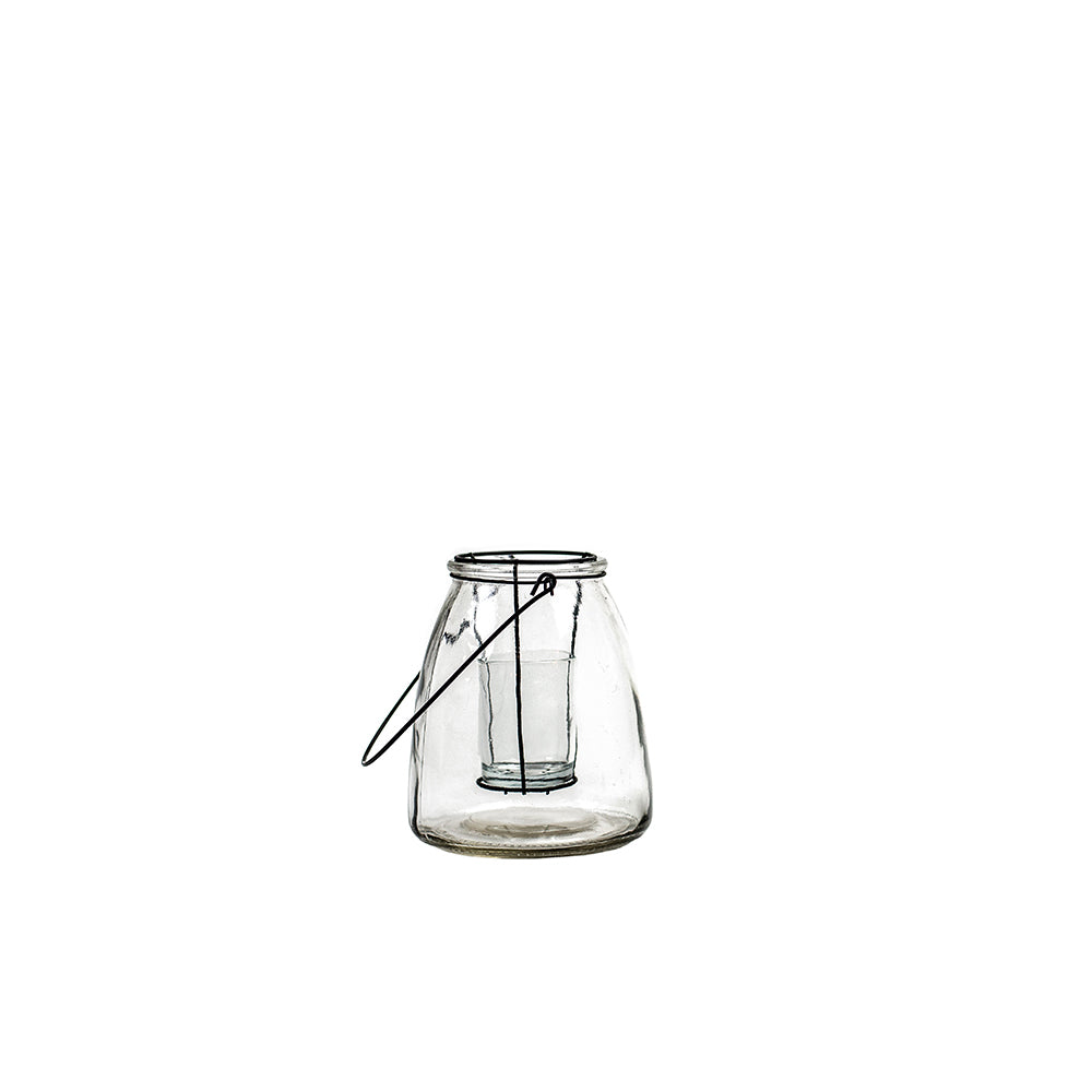 Clear Glass Votive Lantern