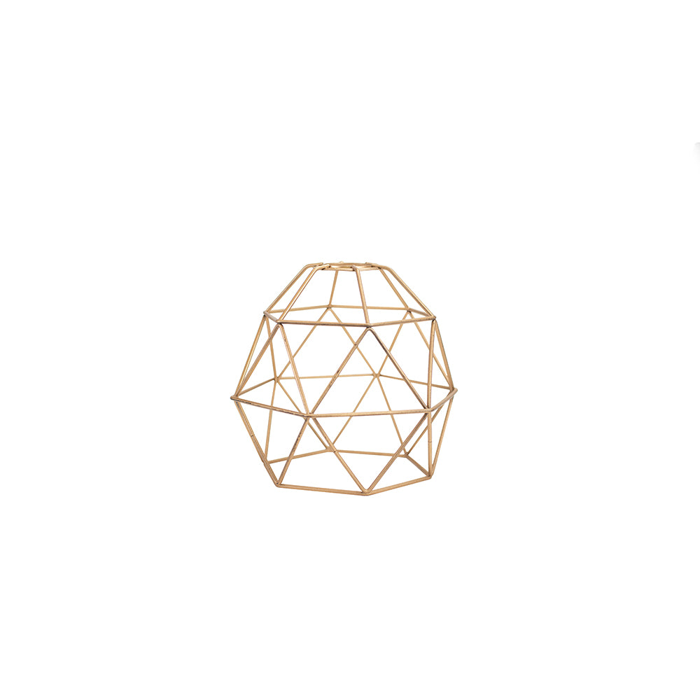Gold Geometric Centerpiece