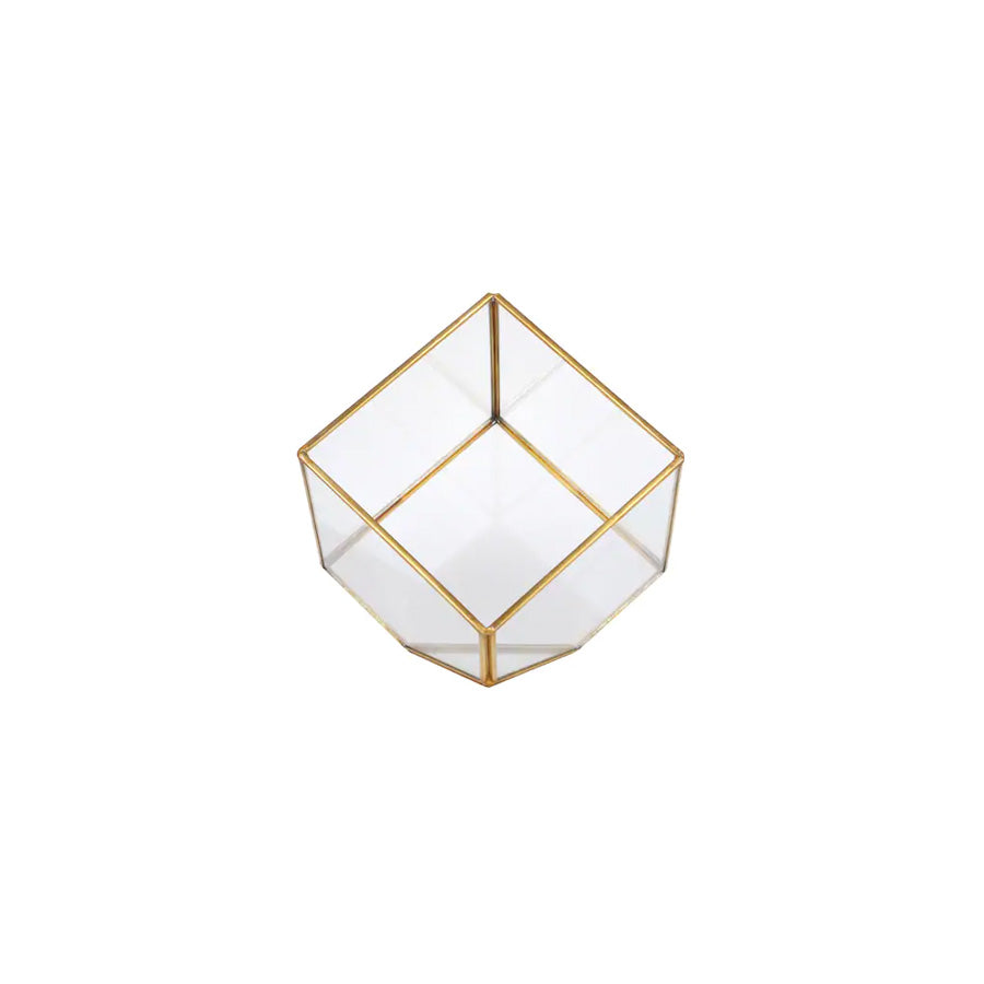 Gold Square Terrarium - Alpine Event Co.