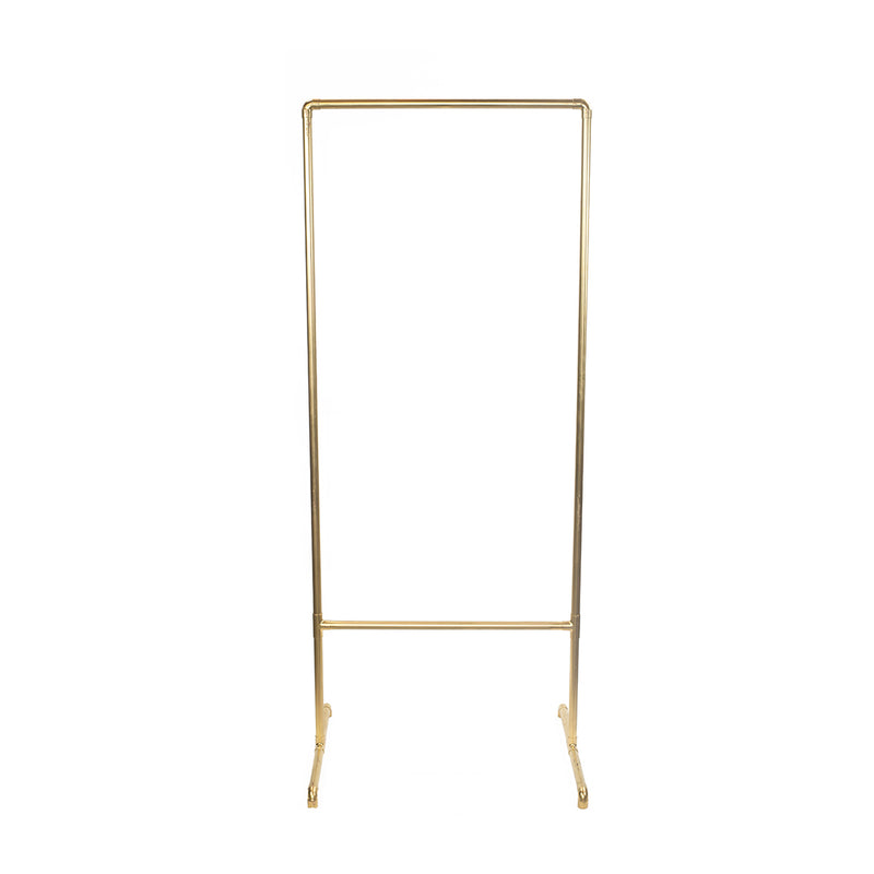 Gold Metal Sign Stand
