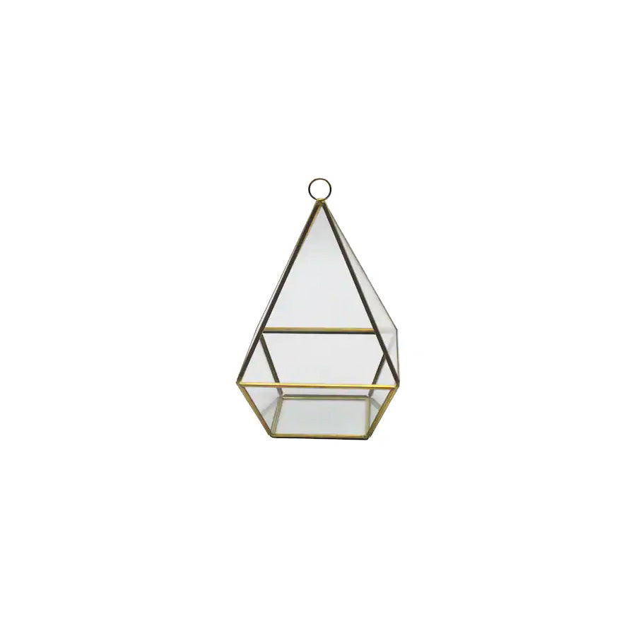 Gold Short Triangle Terrarium - Alpine Event Co.