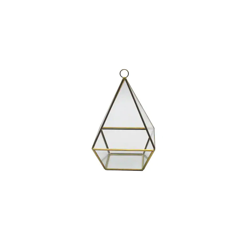Gold Short Triangle Terrarium