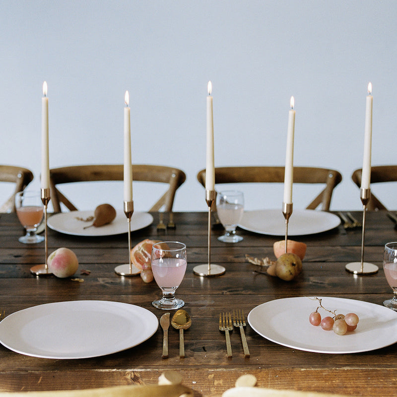 Gold Candle Holders - Alpine Event Co.