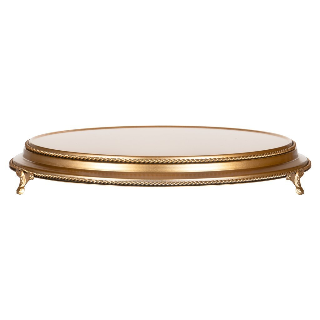 Gold Cake Stand - Alpine Event Co.