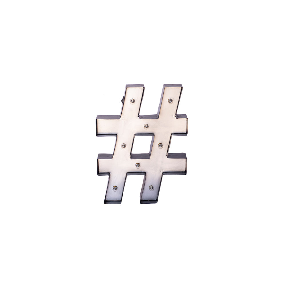 Hashtag Sign - Alpine Event Co.