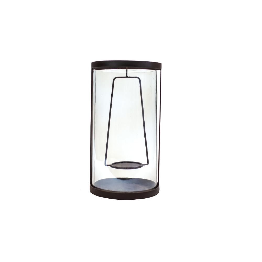 Iron and Glass Lantern - Alpine Event Co.