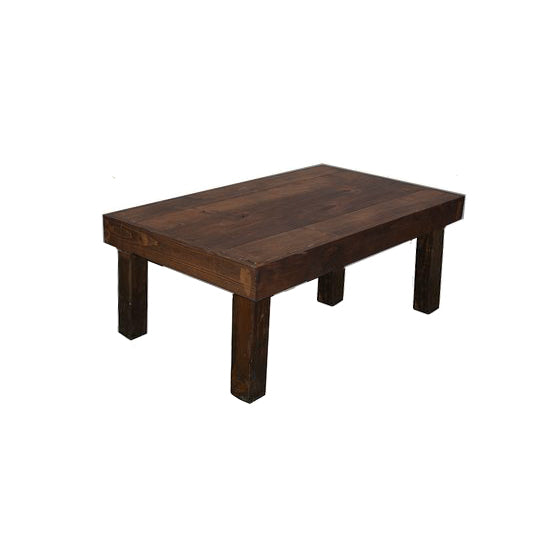 Farmhouse Coffee Table - Alpine Event Co.
