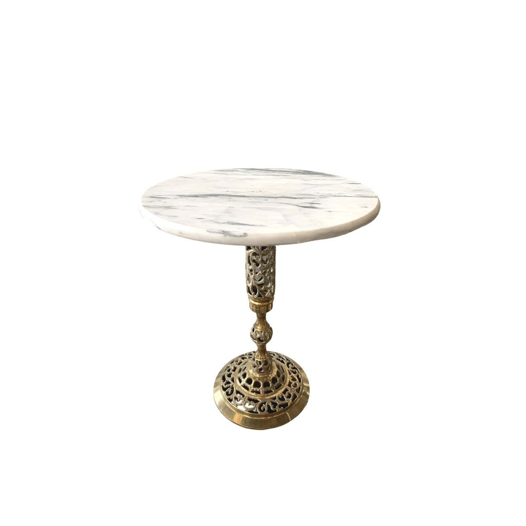 Marble and Brass Stand