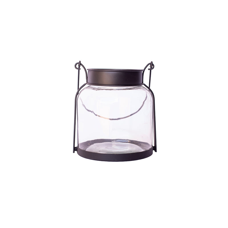 Beaded Glass Votive Lantern