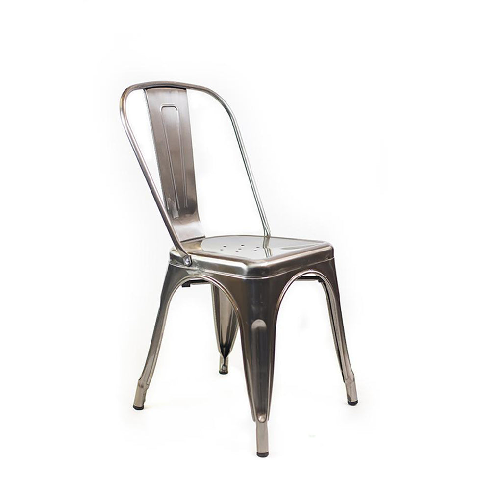 Metal Cafe Chair - Alpine Event Co.