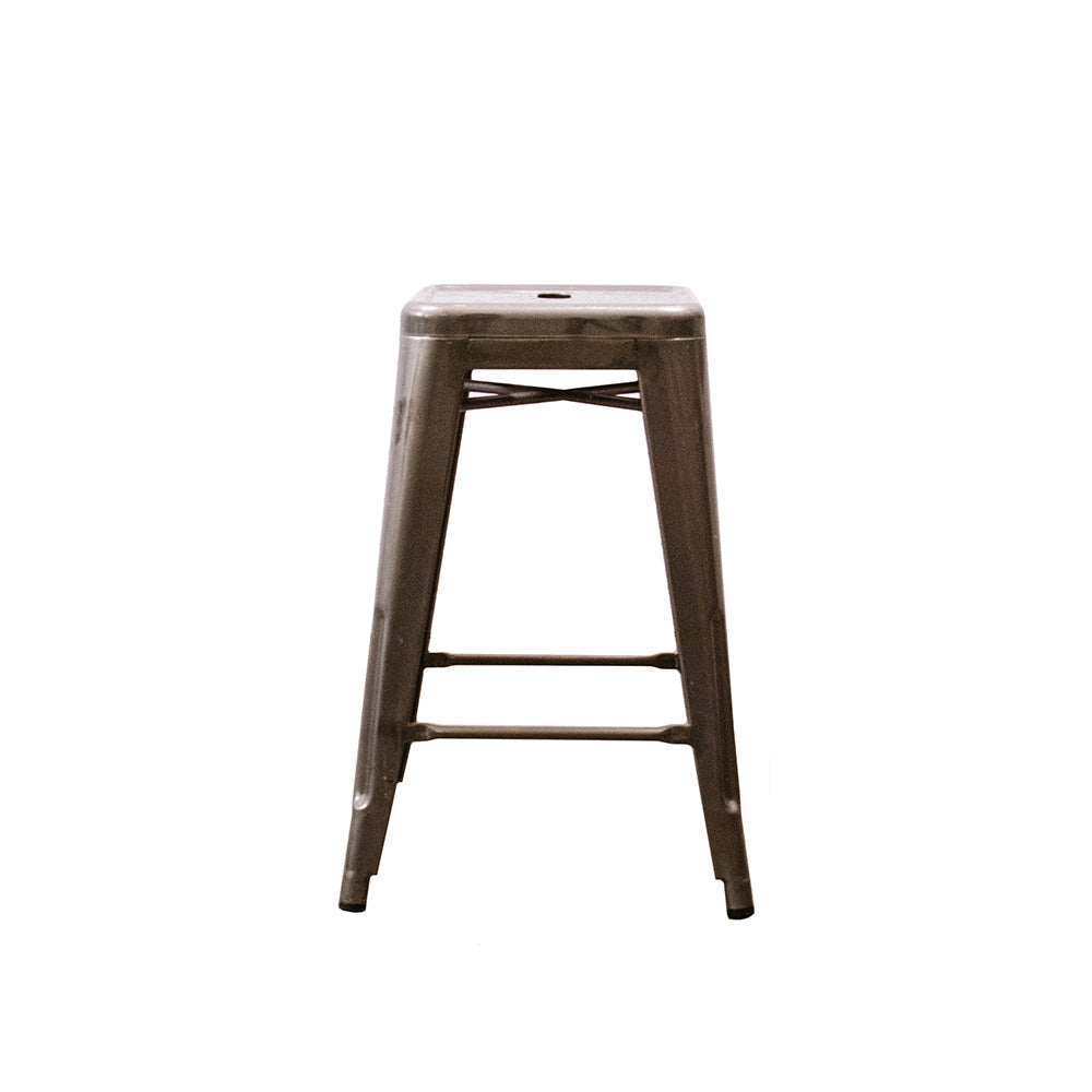 Metal Cafe Counter Stool - Alpine Event Co.
