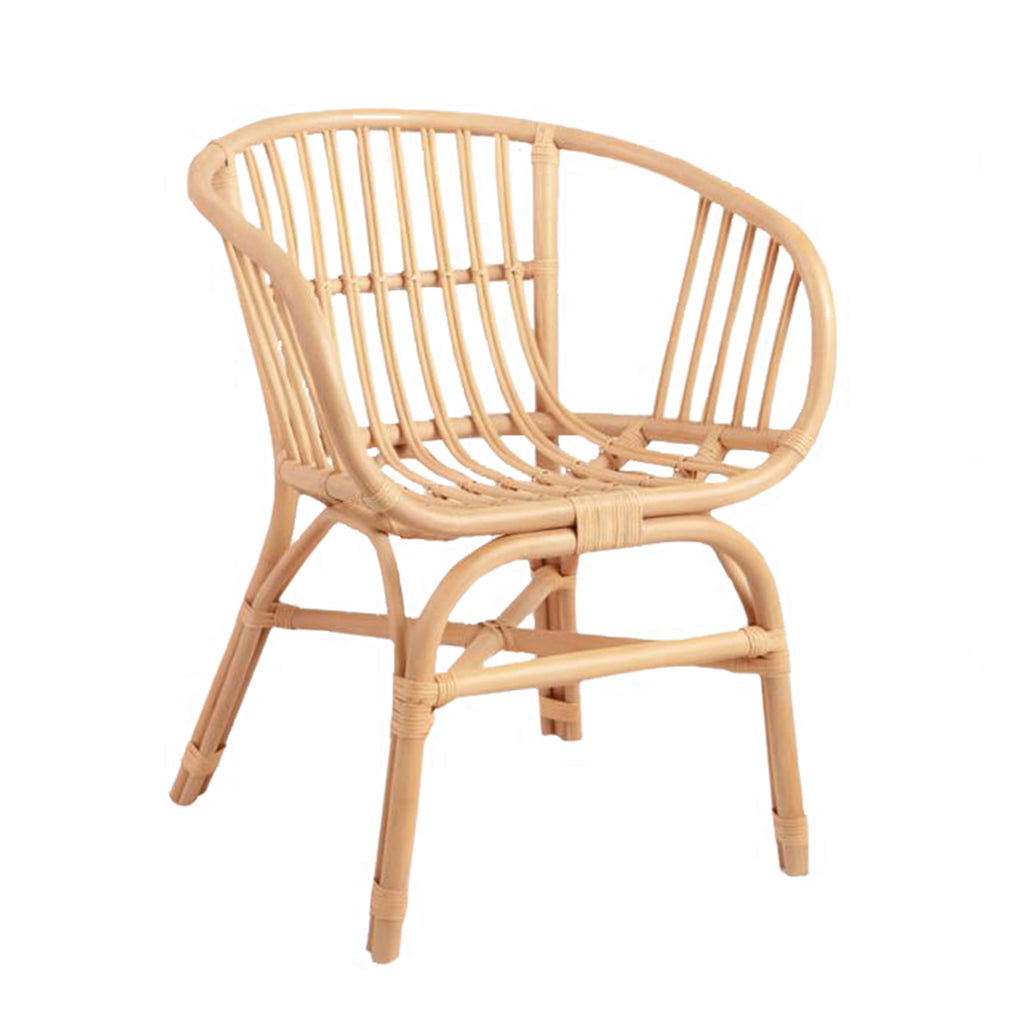Natural Rattan Chair - Alpine Event Co.