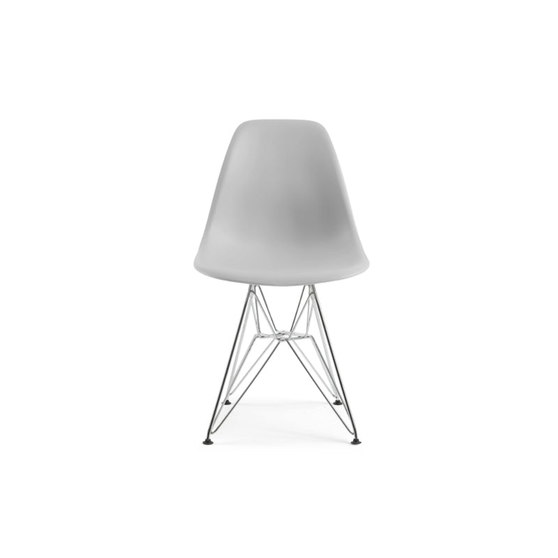 Modern White Chair - Alpine Event Co.