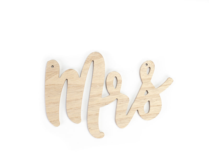 Mr. and Mrs. Signs - Alpine Event Co.