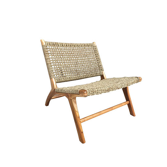 Natural Lounge Chair - Alpine Event Co.