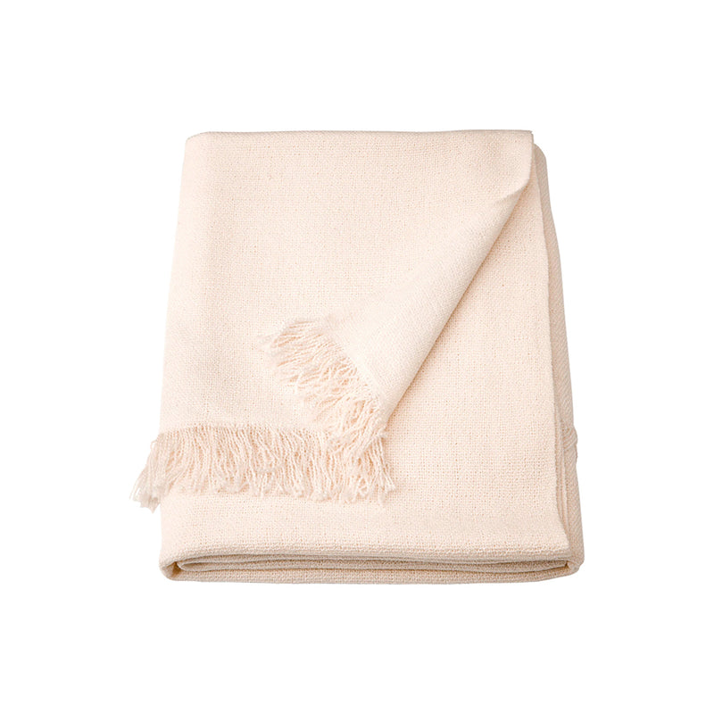 Off-White Blanket Throw - Alpine Event Co.