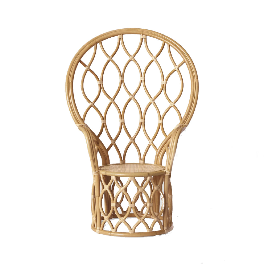 Peacock Rattan Chair - Alpine Event Co.