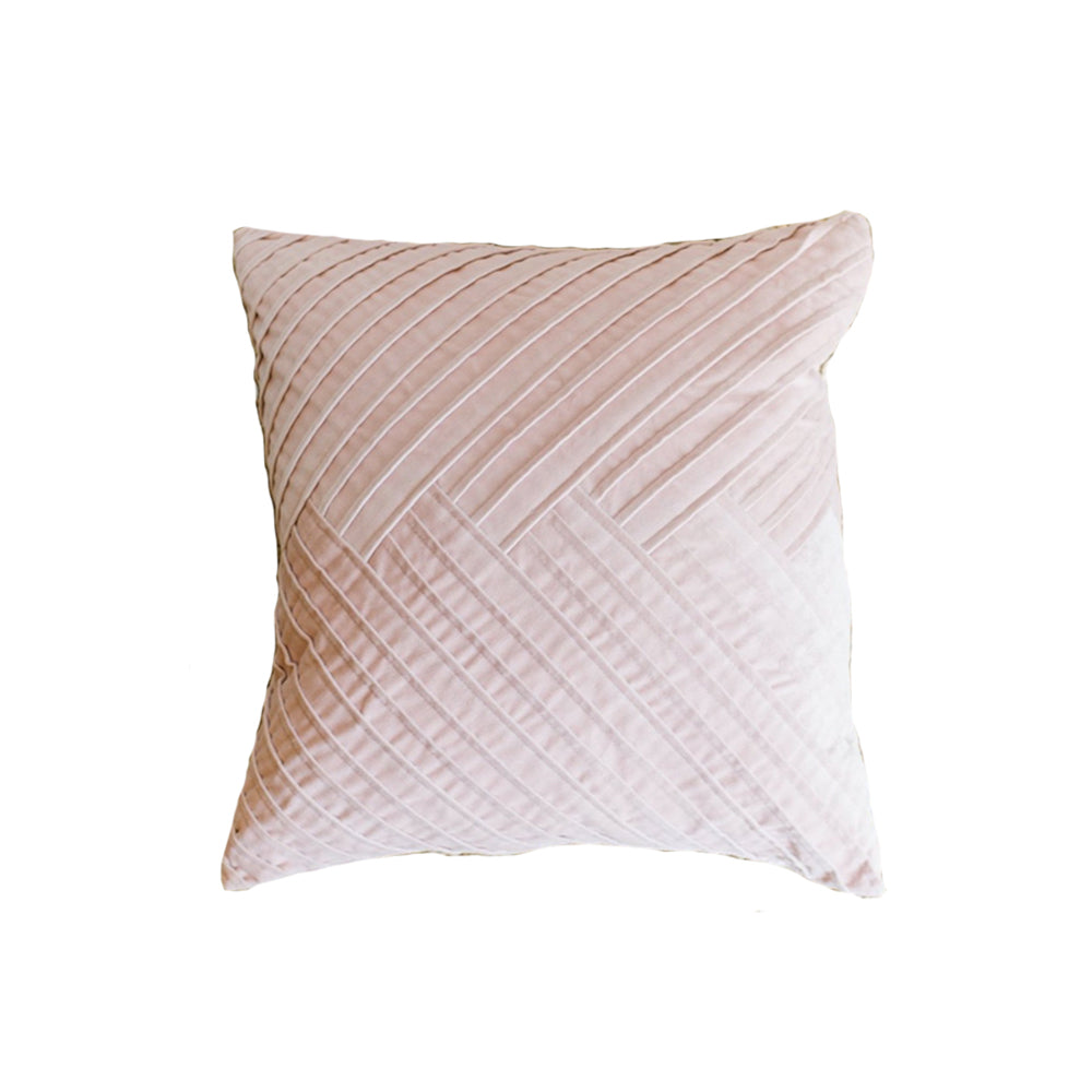 Pink Pleat Pillow - Alpine Event Co.