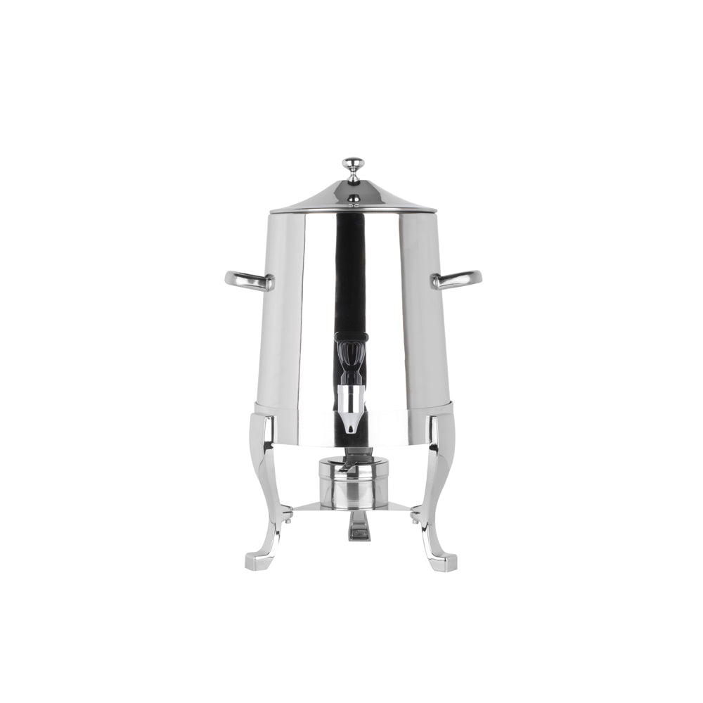 Silver Hot Beverage Dispenser - Alpine Event Co.
