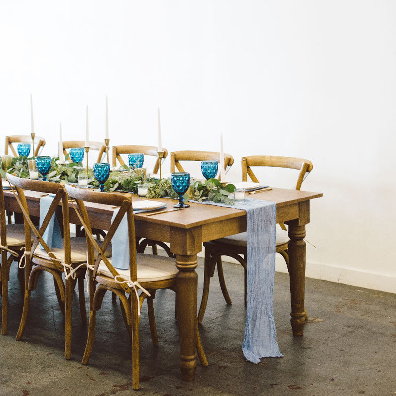 Sonoma Dining Table - Alpine Event Co.