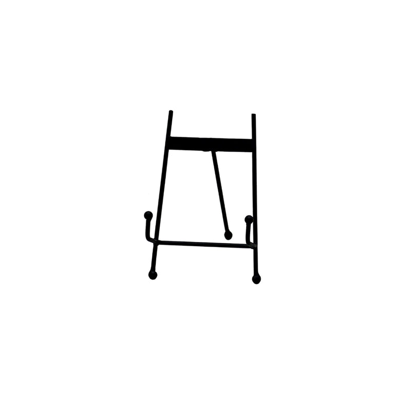 Black Iron Tabletop Easel