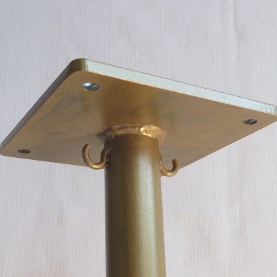 Vintage Gold Light Stand
